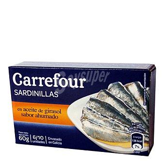 Carrefour Sardinilla ahumada en aceite vegetal 60 g