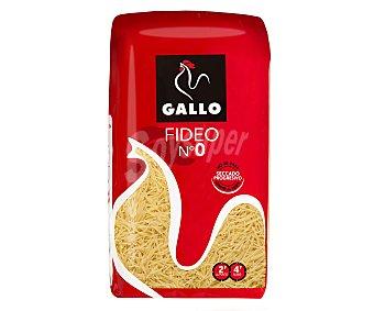 Gallo Fideo fino Nº 0 paquete 1 kg