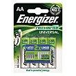 Pilas AA recargables 1300 mah Blister 4 ud Energizer
