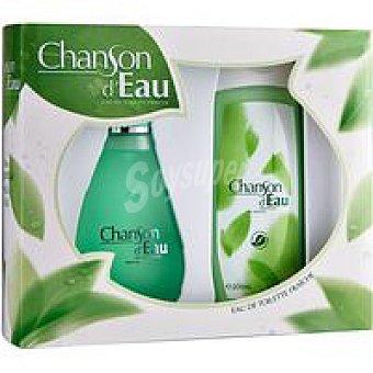 Chanson D'Eau Colonia de mujer Eau d`eau Vaporizador 100 ml + Gel