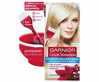 Color Sensation Garnier Tinte ultra rubio seda Nº 113 1 Unidad