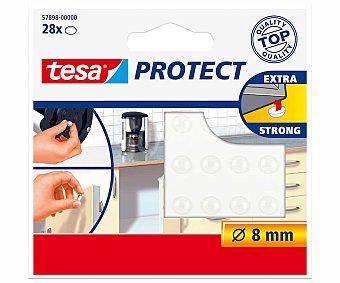 Tesa Gotas antiruido 8mm 28 unidades, TESA. 28 unidades