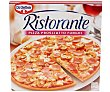 Pizza congelada de jamón cocido ahumado y champiñones 350 g Ristorante Dr. Oetker