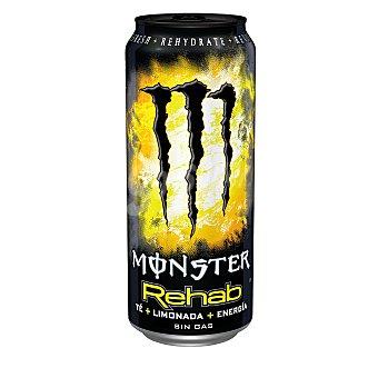 Monster Rehab Bebida energética con té y limonada Lata de 50 cl
