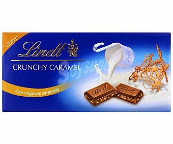 Lindt Chocolate con leche con crujiente caramelo 100 g