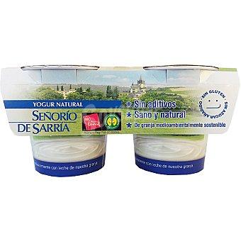 Señorio de Sarria Yogur semidesnatado Pack 2x125 g