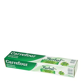 Carrefour Dentífrico Herbal 75 ml