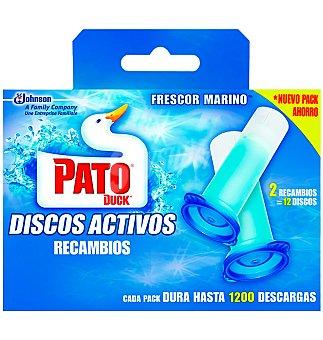 Pato Limpia W.C. cisterna agua azul 45 GRS
