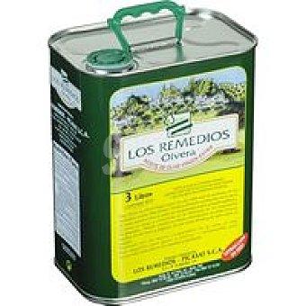 Los Remedios Aceite de oliva virgen extra Lata 3 litros