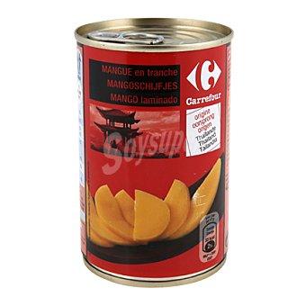 Carrefour Mango en trozos en sirope 235 g