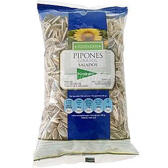 El Corte Inglés Pipones de girasol tostados y salados Bolsa 250 g
