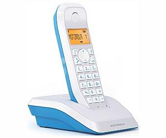 MOTOROLA S1201 AZUL Teléfono inalámbrico