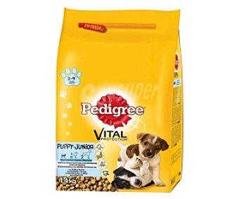 PEDIGREE Vital Alimento Seco para Cachorros con pollo y arroz Saco de 1,4 Kilogramos