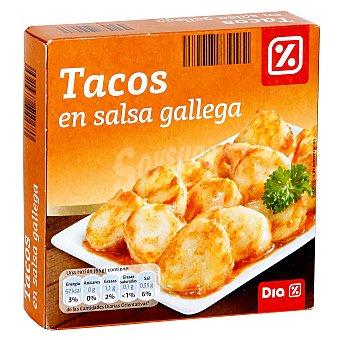 DIA Tacos en salsa gallega lata 168 grs Lata 168 grs
