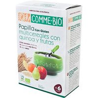 COMME-BIO Papilla multicereal Caja 230 g