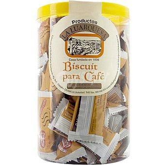 LA LUARQUESA Biscuit para café elaboración artesana Bote 500 g