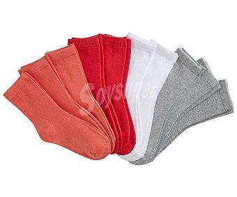 In Extenso Lote de 10 pares de calcetines de niño talla 23/26