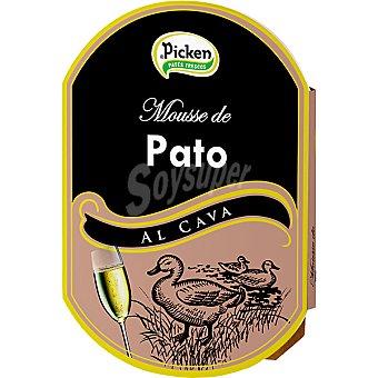 Picken Mousse de pato al cava Envase 160 g