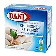Chipirones rellenos en aceite vegetal 91 g Dani