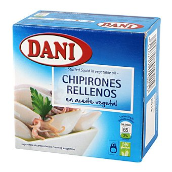 Dani Chipirones rellenos en aceite vegetal 91 g