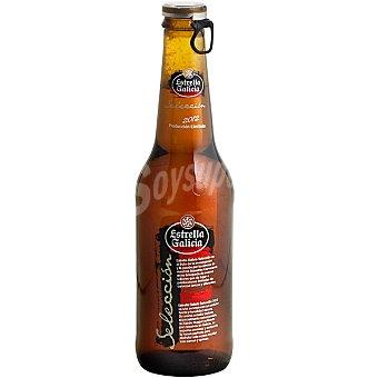 Estrella Galicia Selección 2012 cerveza rubia nacional Botella 33 cl