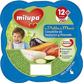 Milupa Miluchef Cazuelita de verduras y pescados a partir de 12 meses Envase 230 g