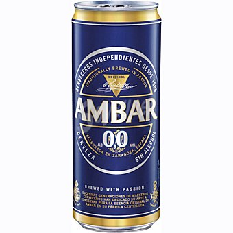 Ambar Green Cerveza sin alcohol Lata 33 cl
