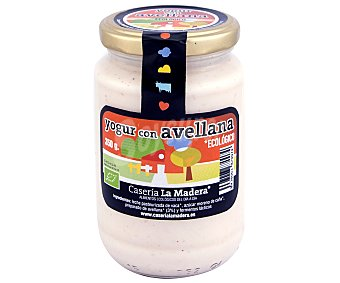 Caseria la Madera Yogur con avellana ecológico 350 gramos