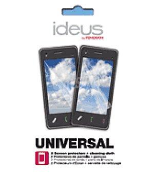 Ideus Protector pantalla univesal 2 unidades