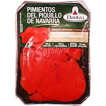 Dantza Pimientos piquillo enteros asados y pelados Bandeja 195 g