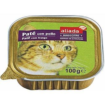 Aliada Paté con pollo para gatos Tarrina 100 g