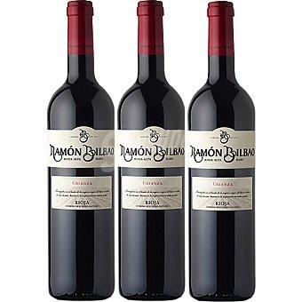 Ramón Bilbao Vino tinto crianza Estuche 3 botellas 75 cl