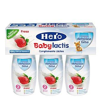 Hero Baby Complemento lácteo sabor fresa Lactis