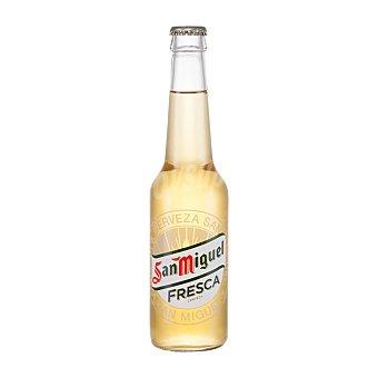 San Miguel Cerveza fresca rubia nacional  botella 33 cl