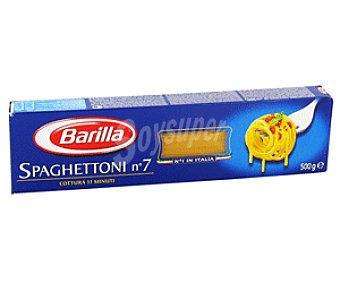 Barilla Pasta de Trigo Espagueti Número 7 500g