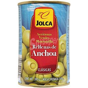 Jolca Aceituna rellenas de anchoa 130 g