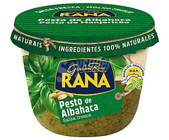 Rana Salsa fresca de pesto de albahaca, elaborada con ingredientes 100% naturales 140 g