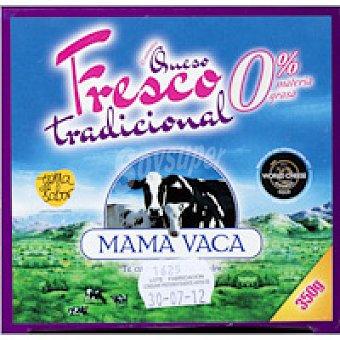 Mama Vaca Queso fresco tradicional 0% Tarrina 350 g