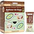 Superalimentos azúcar de coco ecológica en sobres individuales bolsa 300 g bolsa 300 g Drasanvi
