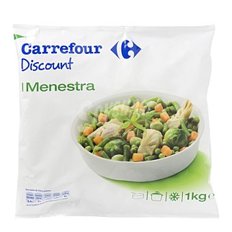 Carrefour Discount Menestra Envase de 1 kg