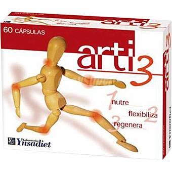 NATURTIERRA Arti-3 Molestias articulares y musculares 60 cápsulas envase 240 g 60 c