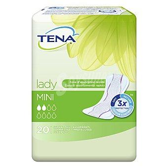 Tena Lady Compresa de incontinencia mini Bolsa 20 unidades