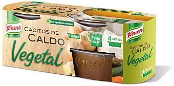 Knorr Caldo vegetal cacitos 4 ud
