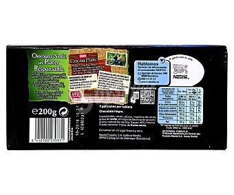 Nestlé Chocolate negro Ecuador 60% cacao  tableta 200 g