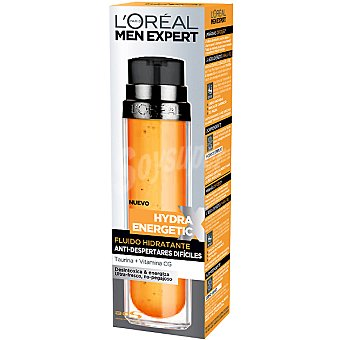 L'OREAL MEN  Fluido hidratante EXPERT HYDRA ENERGETIC Turbo Booster Frasco 50 ml