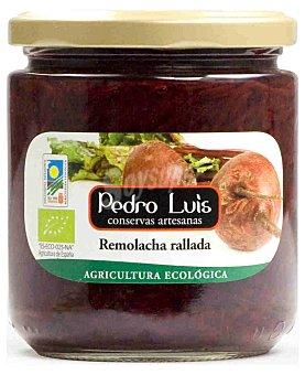 Pedro Luis Remolacha rallada ecológica Frasco 210 g neto escurrido
