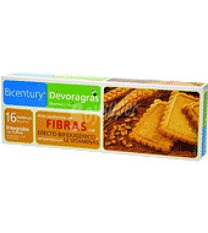 Bicentury Devoragras galletas integrales sin azucar 160 g