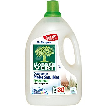 L'ARBRE VERT Detergente líquido eco pieles sensibles  30 dosis
