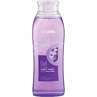 Veckia gel de baño relajante con lavanda y romero pH 5.5 para piel normal Bote 500 ml