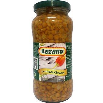 LOZANO lentejas cocidas tarro 560 g neto escurrido